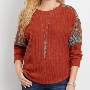 Maurices patterned top